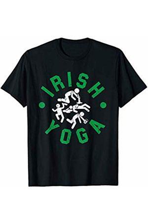 Irish Yoga Funny St Patricks Mens Yoga T-Shirt