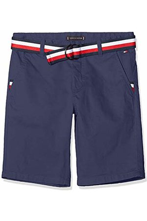 Tommy Hilfiger Boy's Essential Belted Chino Shorts (Twilight Navy 654-860 C87)
