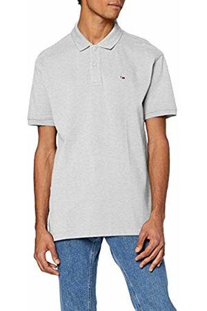 Tommy Hilfiger Men's TJM Classics Solid Stretch Polo Shirt, (Pale HTR PPP)