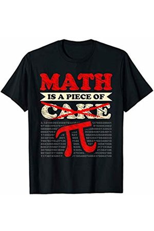 Wowsome! Pi Day 3.14 Gift Math Is a Piece of Cake Funny Pi Day Geek T-Shirt