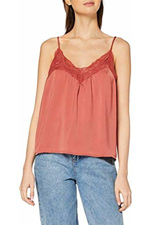 Vero Moda Women's Vmamy Lace Singlet Color Vest
