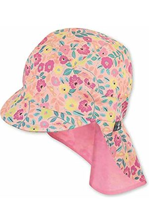 Sterntaler Girl's Cap with Visor and Neck Protection Hat