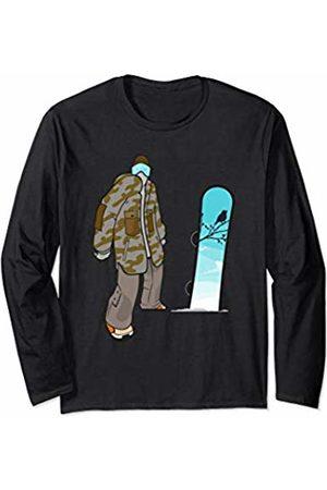 Snowboarding 365 Women Tops - Snowboard Sport Cute Snowboarder Gift for Men Women Long Sleeve T-Shirt