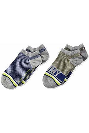 Tommy Hilfiger Boy's Th Kids Sneaker 2p Fine Stripe Ankle Socks