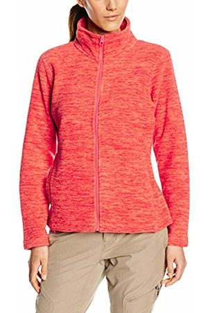 Stedman Apparel Women's Active Fleece Jacket Plain Long Sleeve Sports Knitwear