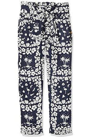 Scotch&Soda Girl's Relaxed Slim Fit Drapey Pants with Bow Detail Trouser