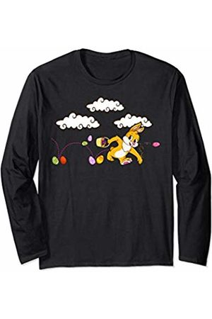 Wowsome! Easter Shirt for Kids and Women - Easter Bunny & Eggs Gifts Long Sleeve T-Shirt