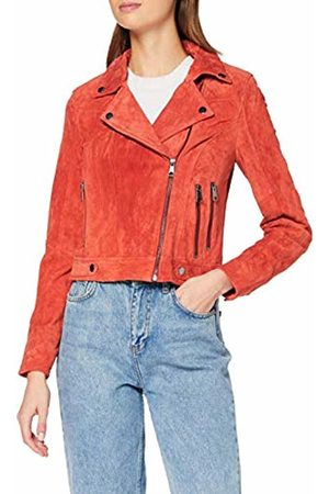 Vero Moda Women's Vmroycesalon Short Suede Jacket Col
