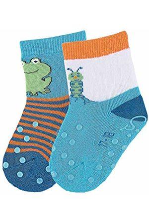 Sterntaler Baby Boys' Abs-krabbelsöckchen Dp Raupe Calf Socks
