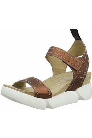 Fly London Women's SENA580FLY Open Toe Sandals, (Copper 003)