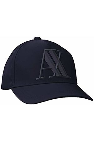 Armani Men's Rubber Logo Ax Cap Baseball
