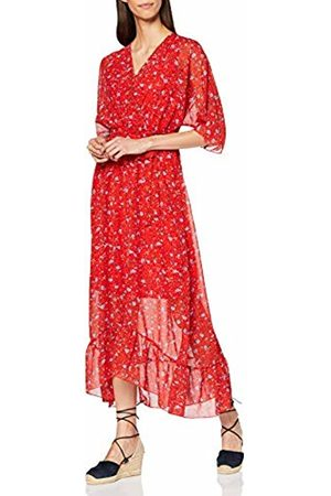 Mela Women's Ditsy Floral Wrap Front Maxi Dress Cocktail