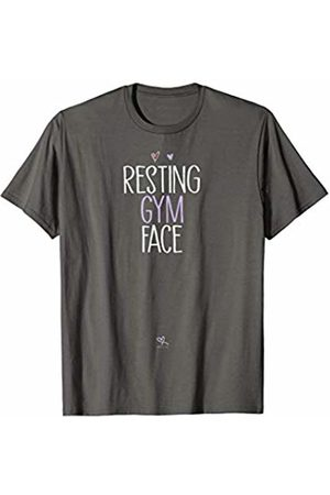 Sarcastic Humor Gift ideas with Sayings Funny Resting Gym Face T-Shirt