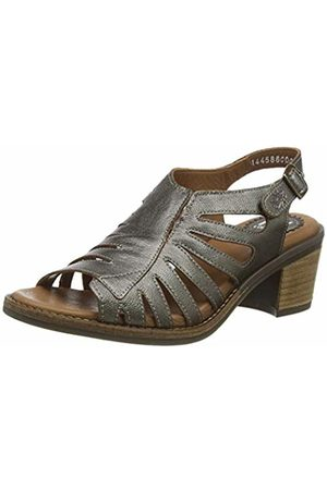 Fly London Women's ZENA586FLY Open Toe Heel Sandals, (Bronze 000)
