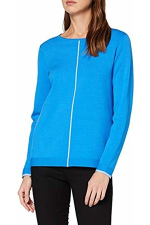 CECIL Women's 301164 Jumper, (Blau)
