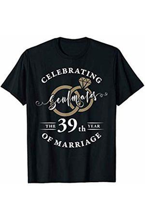 Wowsome! 39th Wedding Anniversary Shirt 39 years of Marriage Gift T-Shirt