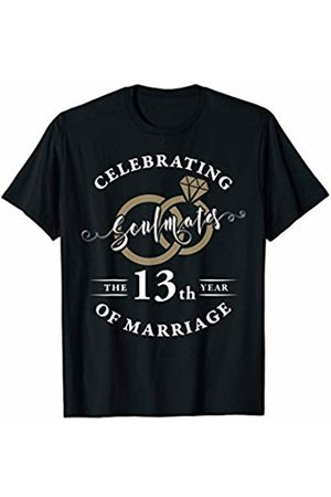 Wowsome! 13th Wedding Anniversary Shirt 13 years of Marriage Gift T-Shirt