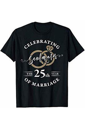 Wowsome! 25th Wedding Anniversary Shirt 25 years of Marriage Gift T-Shirt