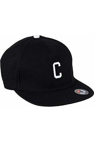 MSTRDS Letter Snapback C Baseball Cap, -Schwarz (C 1178,4618)