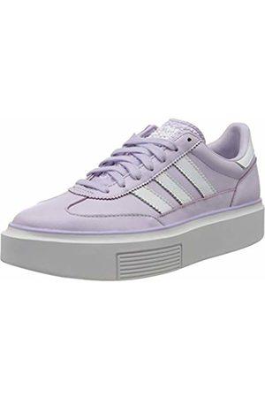 adidas Women's Sleek Super 72 W Sneaker, Tint/FTWR /Crystal