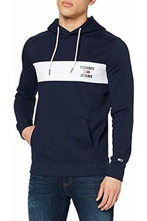 Tommy Jeans Men's TJM Essential Graphic Hoodie Sports Jumper