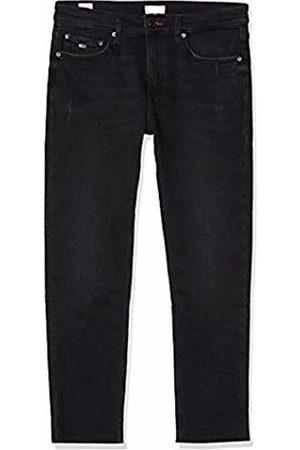 Tommy Hilfiger Women's IZZY HIGH Rise Slim Ankle CKBK Straight Jeans