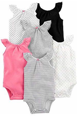 Simple Joys by Carter's 6-pack Sleeveless Bodysuit , Ruffle