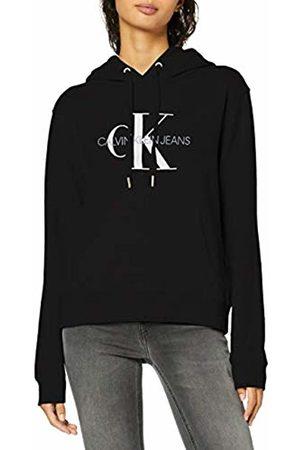 Calvin Klein Jeans Women's Monogram Relaxed Short Hoodie Sweatshirt