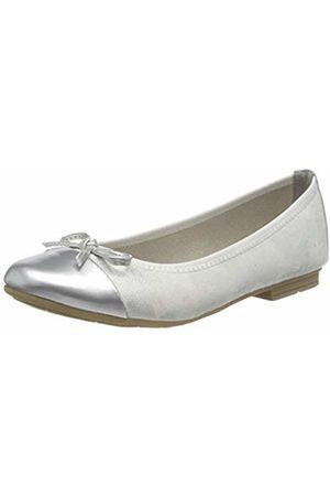Jana 100% comfort Women's 8-8-22109-24 Closed Toe Ballet Flats, ( 100)