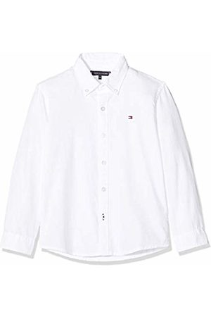 Tommy Hilfiger Boy's Overdye Dobby Shirt L/S ( YBR)