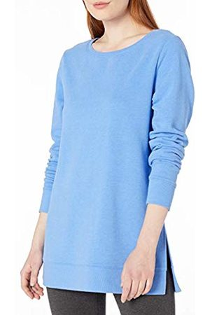 Amazon Open-Neck Terry Fleece Tunic Sweatshirt