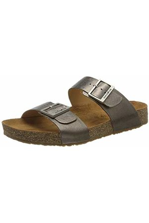 Haflinger Unisex Adults' Bio Andrea T-Bar Sandals, (Bronce 1566)