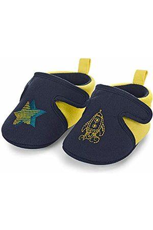 Sterntaler Boys' Baby-Krabbelschuh Slippers, (Marine 300)