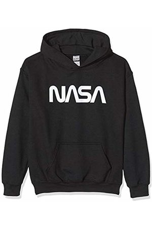 Brands In Limited Boy's NASA Modern Logo Hoodie
