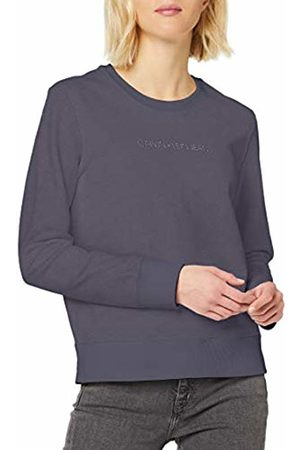 Calvin Klein Women's INSTITUTIONAL Regular Crew Neck Sweatshirt, (Abstract Pp3)