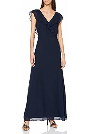 warehouse Women's Frill Wrap Button Back Maxi Dress Bridesmaid