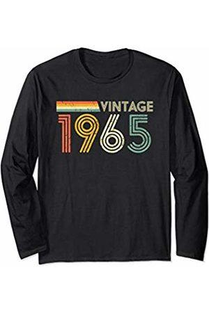Classic Rock Supermerch Stuff by CW 55th Birthday Gift Men Retro Vintage 1965 Retro Long Sleeve T-Shirt