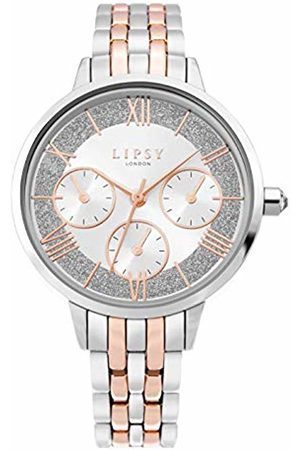 Lipsy London Womens Analogue Classic Quartz Watch with Aluminium Strap LP635