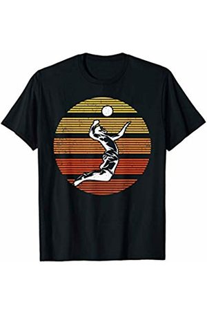 Vintage Retro Volleyball Gift Volleyball Sports Lover Gift Vintage Retro Volleyball T-Shirt