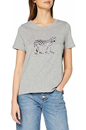 Vero Moda Women's Vmflameolly Ss Top Box JRS Ga T-Shirt