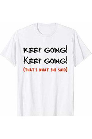Funny Runners Gifts by DD Keep Running Funny Gifts for Running Girl Men Women Runner T-Shirt