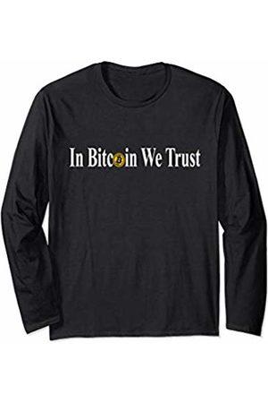 In Bitcoin We Trust Merch In Bitcoin We Trust - Cryptocurrency Bitcoin Men Long Sleeve T-Shirt