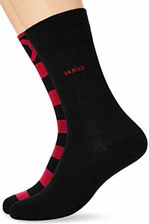 HUGO Men's 2p Stripe Cc Calf Socks