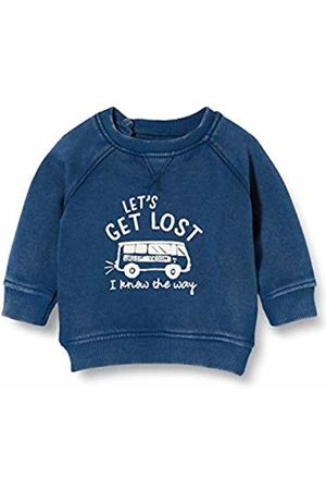 Noppies Baby Boys' B Sweater Ls Arden Hills Sweatshirt, Indigo P