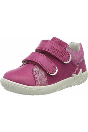 Superfit Baby Girls' Starlight Low-Top Sneakers, (Rosa 55)