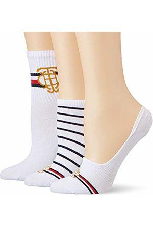 Tommy Hilfiger Women's Th Giftbox 3p Vanity Calf Socks