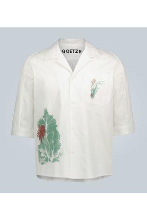 GOETZE Printed cotton shirt