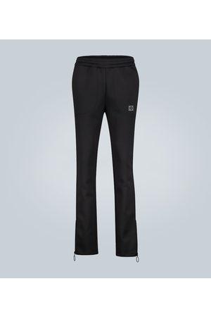 OFF-WHITE Printed neoprene sweatpants