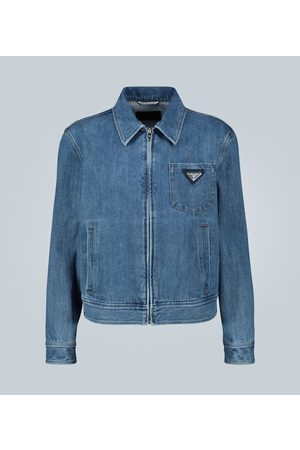 Prada Men Denim Jackets - Vintage denim jacket