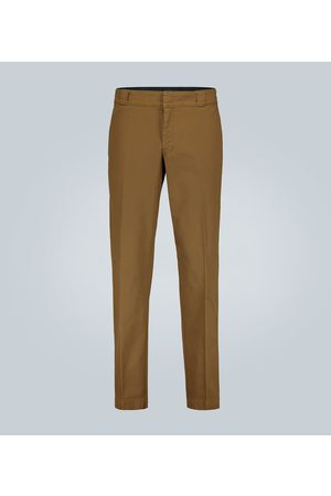 Prada Stretch-cotton pants with logo